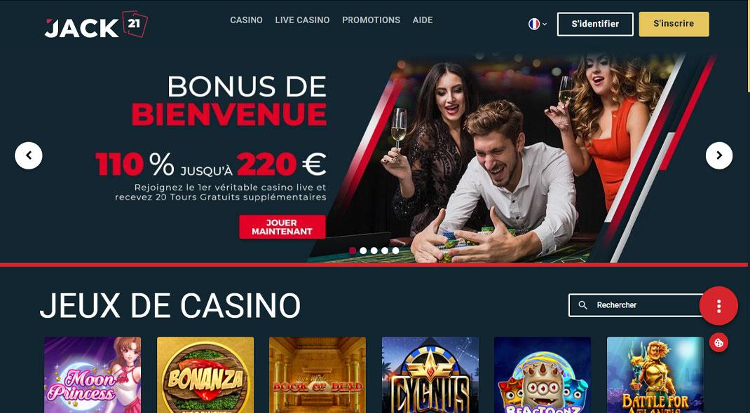 Jack 21 Online Casino Revues