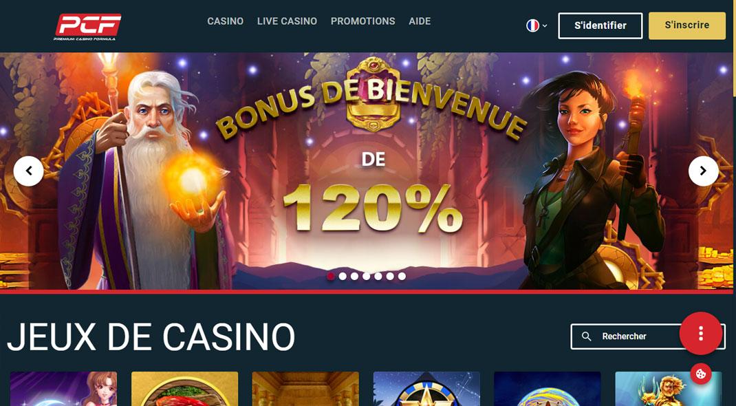 PCF Online Casino Revues