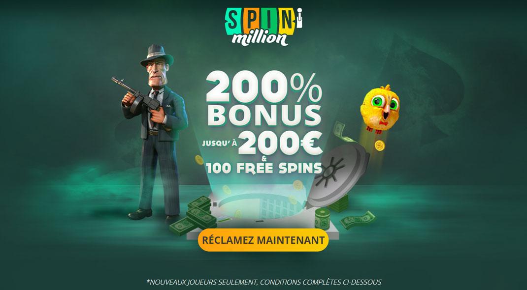 Spin Million Online Casino Revues