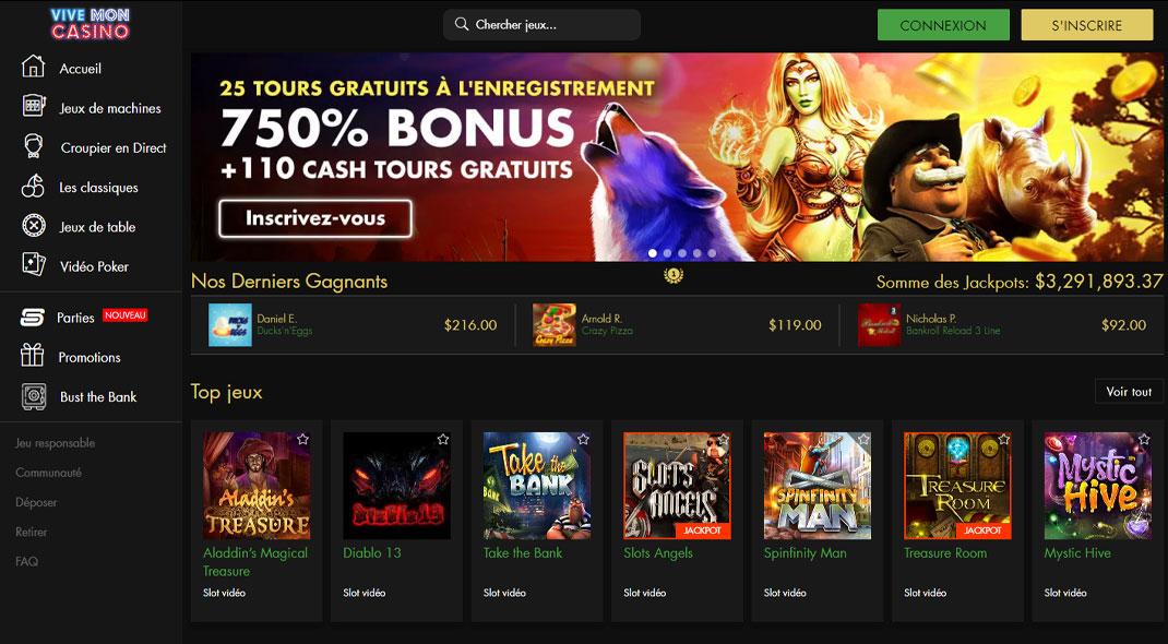 Vive Mon Online Casino Revues