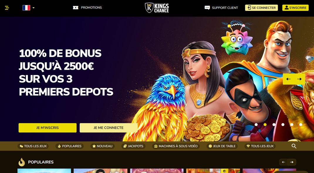 Kings Chance Online Casino Revues