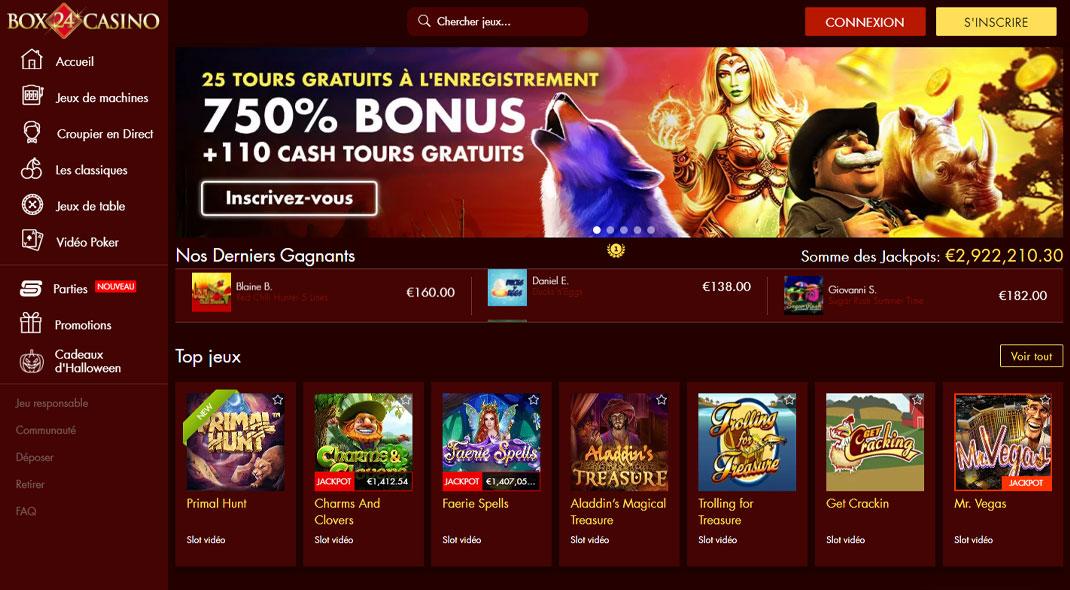 Box24 Online Casino Revues