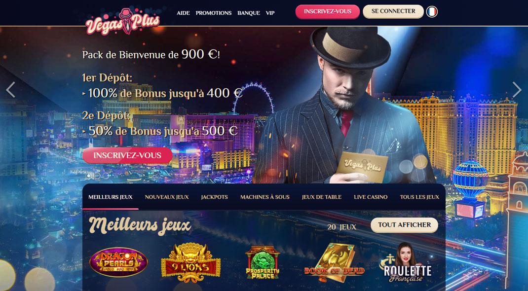 Vegas Plus Online Casino Revues